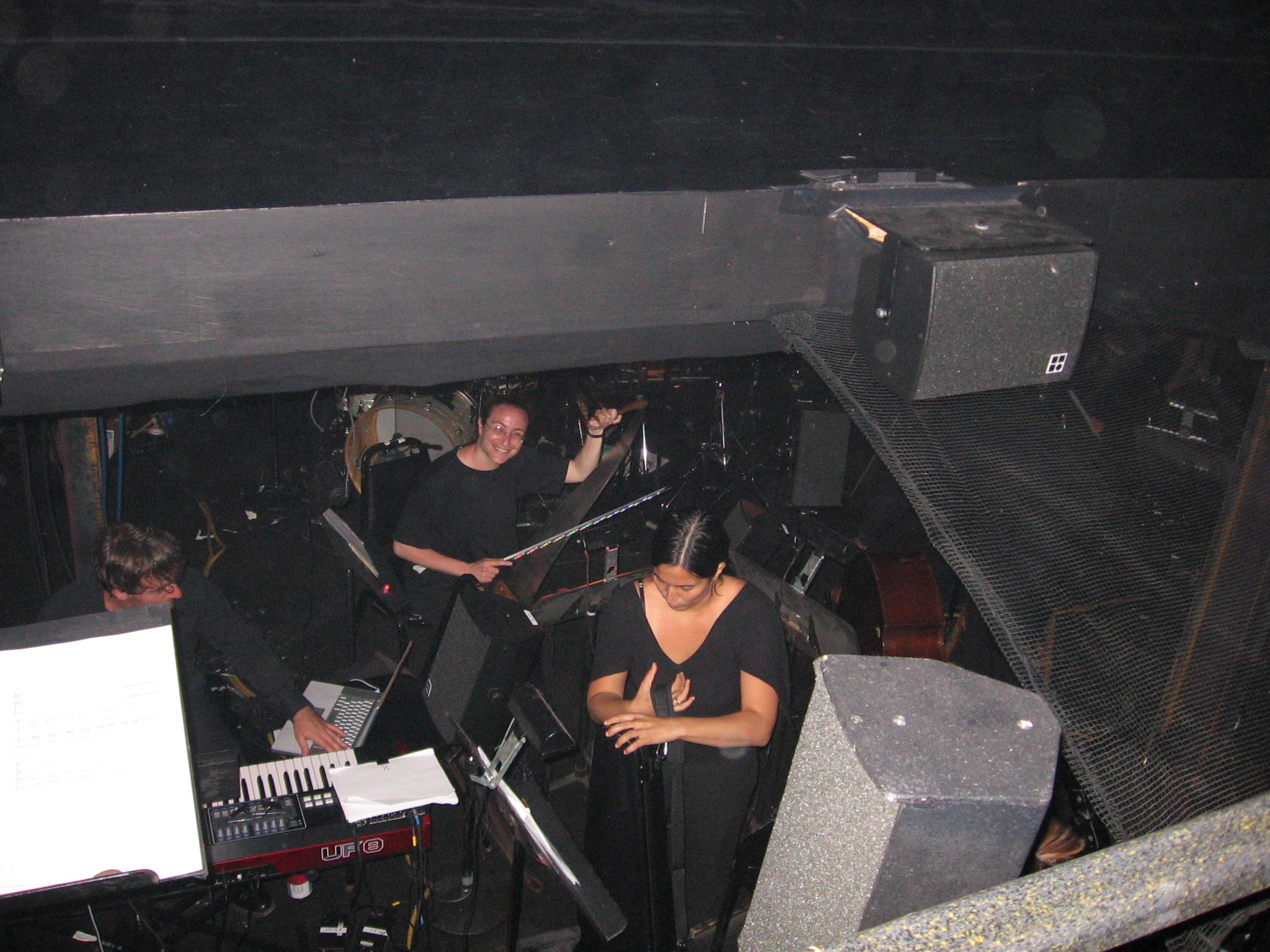 Musicians in the pit