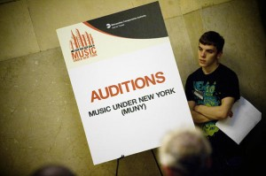 Music Under New York audition